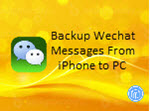 transfer wechat messages to pc