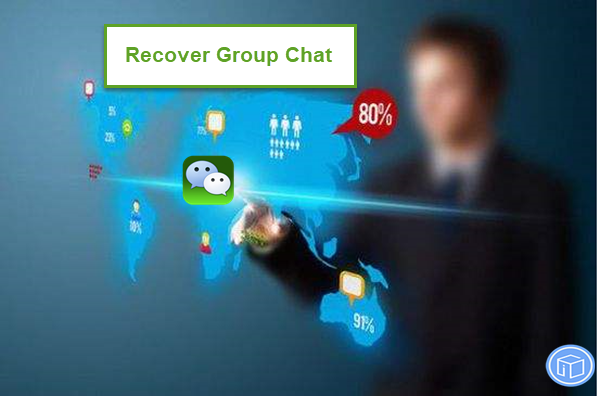 retrieve missing WeChat contacts from a group chat