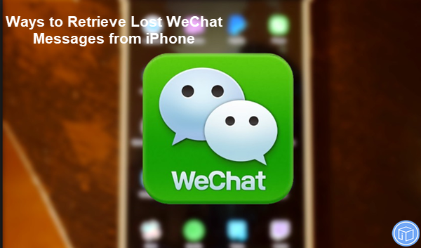 recover missing wechat messages from iphone