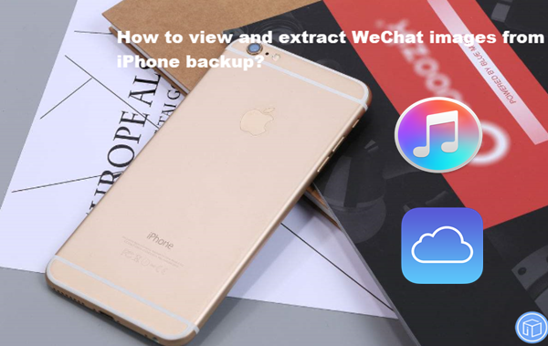 export wechat pictures from iphone backup
