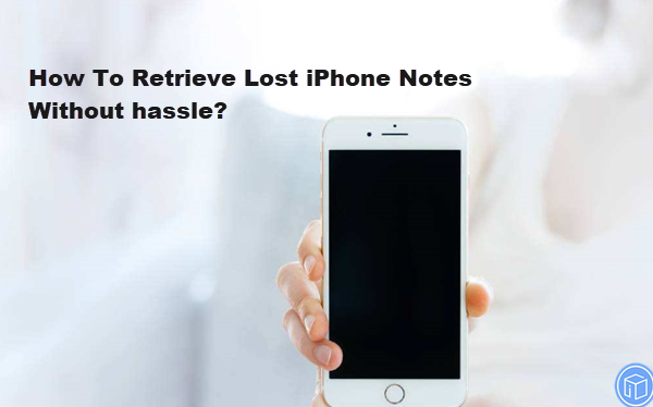 recover lost iphone notes safely